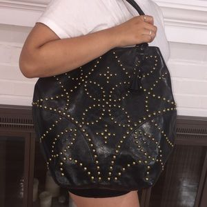 NWT Isabella Fiore Sophia Leather Carry All Tote